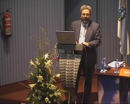 Hipólito Pérez Novo, director da Axencia de Protección da Legalidade Urbanística. - Xornada sobre a Protección da Legalidade Urbanística